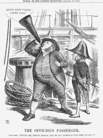 The Officious Passenger, 1866