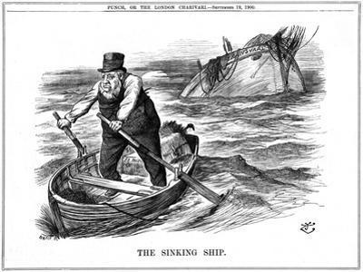 The Pilgrim's Rest, Caricature Af Paul Kruger, South African Politician, 1900