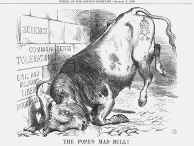 The Pope's Mad Bull, 1865