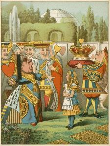 The Queen Said Severely 'Who Is This?' from Alice's Adventures in Wonderland by John Tenniel