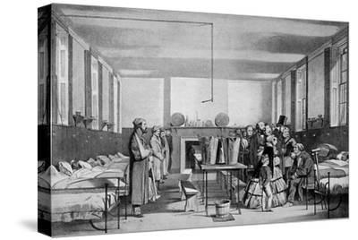 The Royal Visit to Brompton Hospital, 1850s