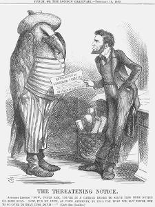 The Threatening Note, 1865 by John Tenniel