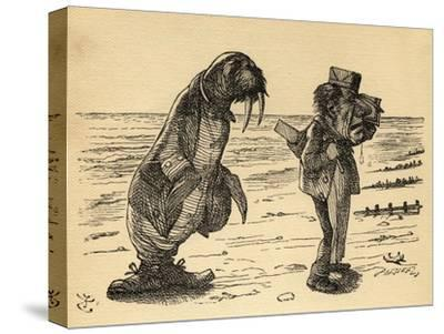 The Walrus and the Carpenter, Illustration from 'Through the Looking Glass' by Lewis Carroll…