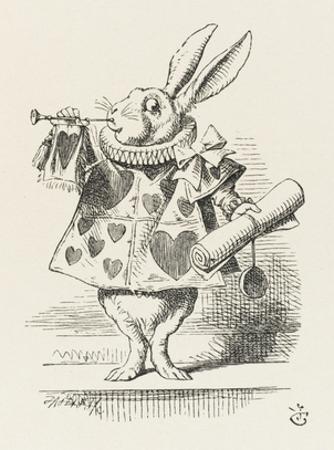 The White Rabbit in Herald's Costume