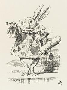 The White Rabbit in Herald's Costume by John Tenniel