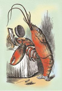 Through the Looking Glass: The Lobster Quadrille by John Tenniel