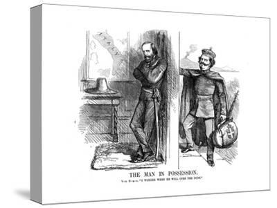 Victor Emmanuel II Knocking on the Door of Naples, 1861