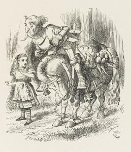 White Knight Alice and the White Knight by John Tenniel
