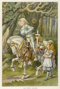 White Knight the White Knight by John Tenniel