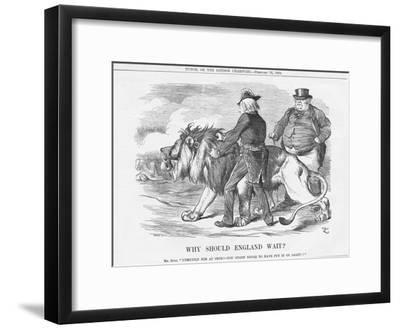 Why Should England Wait?, 1884