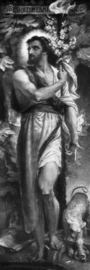 John the Baptist, 1926-Frederic Shields-Giclee Print