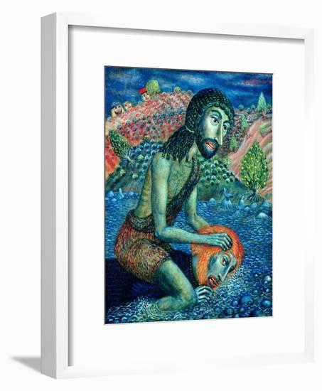 John the Baptist, 1998-Tamas Galambos-Framed Giclee Print