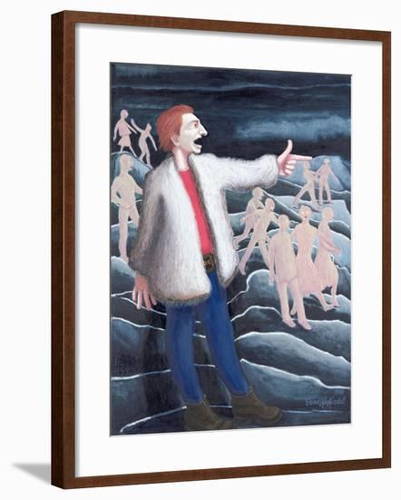 John the Baptist, 1999-Dinah Roe Kendall-Framed Giclee Print