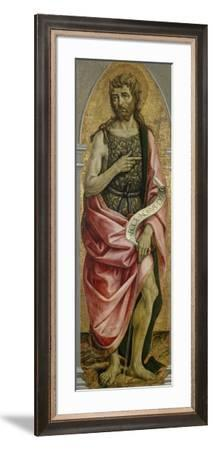 John the Baptist, C.1480--Framed Giclee Print