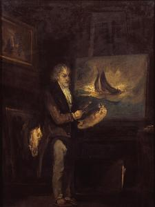 Portrait of J.M.W. Turner, R.A. by John Thomas Smith