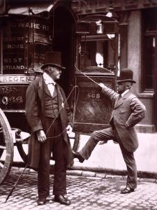 Cast Iron Billy from Street Life in London by John Thomson