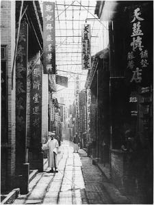 Physic Street, Canton, C.1867-72 by John Thomson