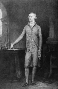 Alexander Hamilton, after the Painting of 1792 (Engraving) by John Trumbull