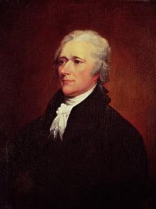 Alexander Hamilton, C.1804 by John Trumbull
