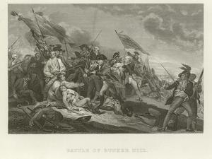Battle of Bunker Hill by John Trumbull