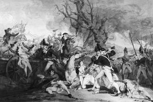 Battle of Princeton, 1777 by John Trumbull