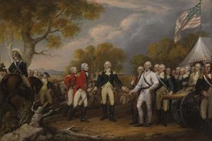 Battle of Saratoga by John Trumbull