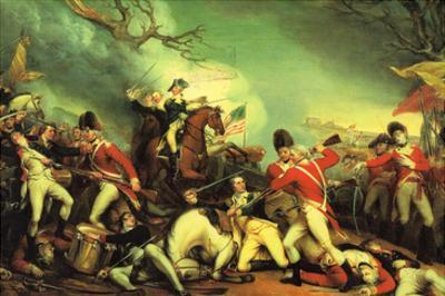 Death of General Mercer at the Battle of Princeton Against the Hessians by John Trumbull