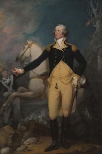 General George Washington at Trenton, 1792 by John Trumbull