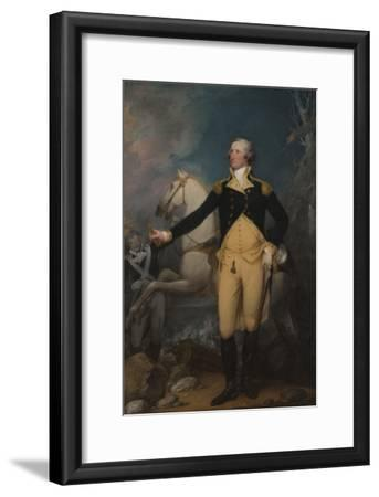 General George Washington at Trenton, 1792