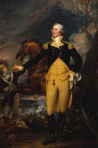 George Washington before the Battle of Trenton, c.1792–94 by John Trumbull