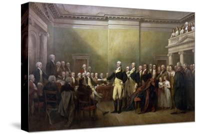 George Washington Resigning His Commission