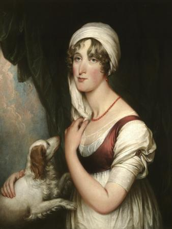 Sarah Trumbull with a Spaniel, c.1802