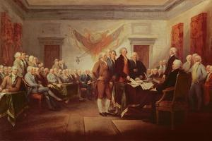 Signing the Declaration of Independence, 4th July 1776, C.1817 by John Trumbull