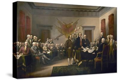 Signing the Declaration of Independence, July 4th, 1776