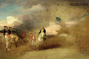 Surrender of Cornwallis at Yorktown, 1787 by John Trumbull