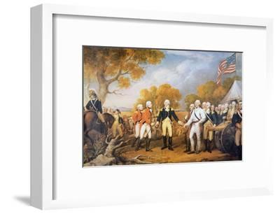 Surrender of General Burgoyne at Saratoga, New York, 17 October 1777