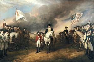 Surrender of General Cornwallis by John Trumbull