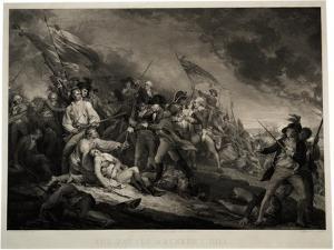 The Battle of Bunker's Hill, 1798 by John Trumbull