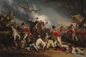 The Death of General Mercer at the Battle of Princeton, January 3, 1777 by John Trumbull