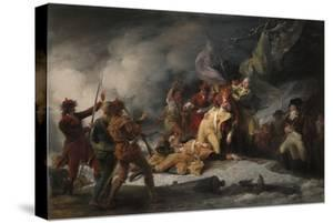 The Death of General Montgomery in the Attack on Quebec, December 31, 1775, 1786 by John Trumbull