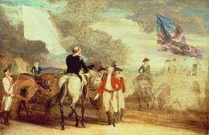 The Surrender of Cornwallis at Yorktown, 1787 by John Trumbull