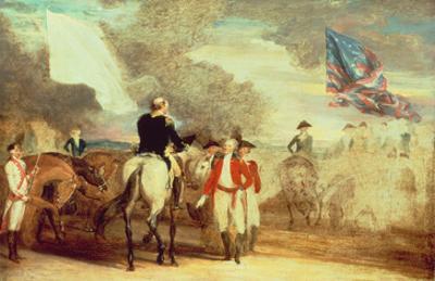 The Surrender of Cornwallis at Yorktown, 1787
