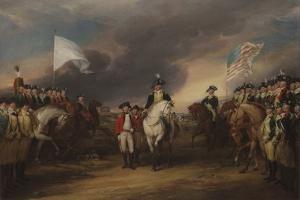 The Surrender of Lord Cornwallis at Yorktown, October 19, 1781, 1787-C.1828 by John Trumbull