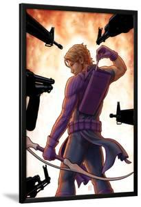 Avengers: Solo No.5 Cover: Hawkeye Trapped, Drawing and Arrow by John Tyler Christopher