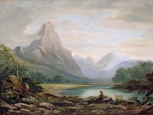 A Welsh Valley, 1819 by John Varley