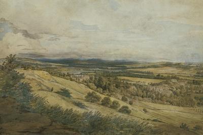 View of Bodenham and the Malvern Hills, Herefordshire