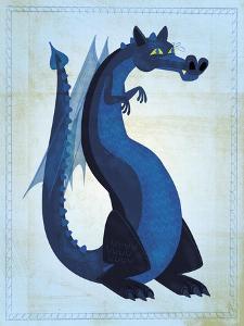 Blue Dragon by John W Golden