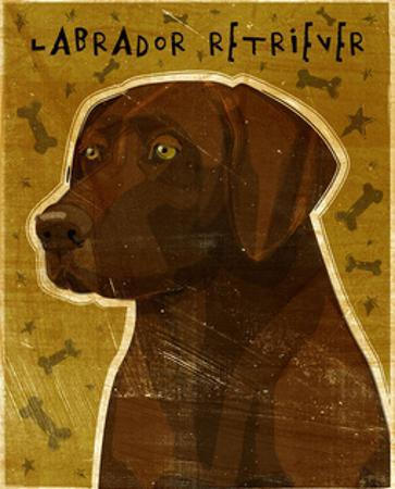 Chocolate Lab (NEW) by John W^ Golden