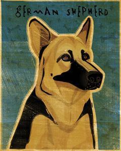 German Shepherd by John W^ Golden