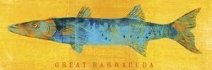 Great Barracuda by John W Golden